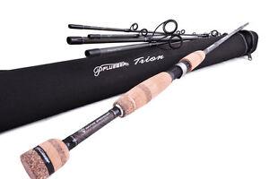PFLUEGER Trion Transcendent Travel Spin Fishing Rod 7' 5 piece 2-5kg + Hard Case