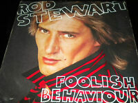 Rod Stewart - Foolish Behaviour - Vinyl Record Album LP - KHS3485 - Poster inc.