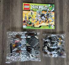 LEGO 9450 Ninjago Epic Dragon Battle Bags 2-4 + Book 1 ONLY