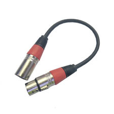 Microphone Lead / Mic Cable / XLR Patch Lead Balanced Male to Female Plugs hot#U