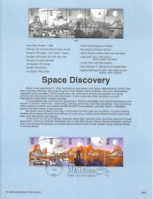 US 1998 FDC USPS Souvenir Page Space Discovery Scott 3238-3242 5 Stamps |