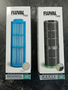 Fluval G6 TRI-EX Filtereinsatz A424 undFine Pre Filter Patrone A418