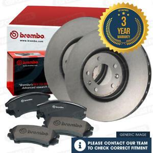 Brembo Front Brake Discs & Pads Fits BMW X5 2.0D 3.0D X6 3.0 3.0D