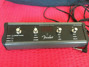 FENDER MGT4 FOOTSWITCH PEDAL FÜR MUSTANG GT MGT-4