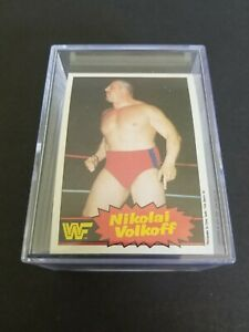 WWF WRESTLING SERIES 2 COMPLETE CARD SET O-PEE-CHEE 1985