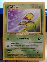Pokemon Knofensa 49/64 Dschungel Deutsch NM
