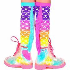 Madmia Socks Mermaid Knee High With Tassles