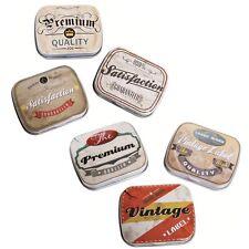 Une petite boite métal style rétro - Boitier vintage pour bonbons - Pilulier...