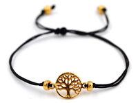 Keltischer Lebensbaum Armband Silber Vergoldet Gothic Schmuck - NEU