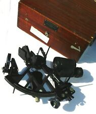 SUPERBE  SEXTANT -  POULIN  BLANCHET+ COFFRET  MARINE NATIONALE - TYPE 81 n°2636