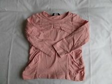 GEORGE Girls Pink Long Sleeve T-Shirt 100% Cotton Size 2-3 Years