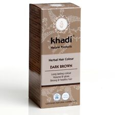 Khadi Herbal Hair Colour Dark Brown 100g