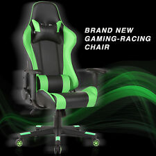 Rocker High Back Office Gaming Chair Racing Seats Computer Chair Executive Green