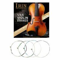 IRIN V68 Professional Violin Strings (E-A-D-G) Nickel Silver Wound for Violin