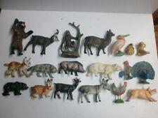 Convolute 19 Old Durolin Massetiere Massefiguren Wild Animals Pets Farm