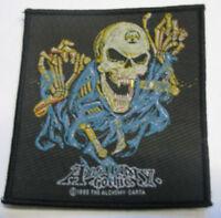 ALCHEMY Aufnäher Skull  Patch Gothic