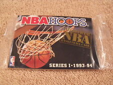 Rare 1993-94 NBA HOOPS Series I Factory Sealed Basketball Rookie Card Set