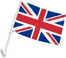 """12x18 United Kingdom UK Double Sided Car Window Vehicle 12""""x18"""" Flag"""