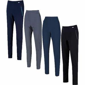 Regatta Womens Pentre Ladies Stretch Walking Hiking Trousers Shower Repellent