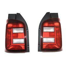 Original VW T6 abgedunkelte Rückleuchten schwarze Tuning Rücklichter Flügeltüren