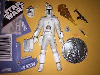 CONCEPT BOBA FETT figure STAR WARS ralph MCQUARRIE toy WHITE bounty hunter COIN