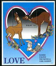 Palau 395  MNH Disney characters Swethearts Bambi 1996 x17537