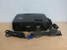 BenQ MS521H DLP 3000 Lumens HDMI Mini USB 3D Projector 1037 Lamp Hours inc VAT