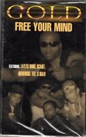 Gold Free Your Mind Rap Hiphop Cassette Tape Single New Sealed