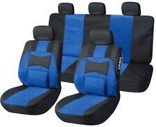 Auto Sitzbezüge Autoschonbezüge Blau geeignet für Toyota RAV4 Verso Yaris Prius