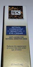RoC Retinol Correxion Sensitive Eye Cream .5 oz Anti-aging Eye Skin Wrinkles