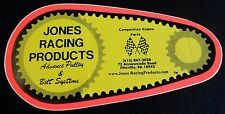 JONES RACING PRODUCTS DECAL SPRINT CAR NASCAR DRAG RACING LATE MODEL BELT DRIVE