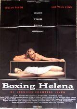 manifesto movie poster 4F BOXING HELENA LYNCH JULIAN SANDS CINEMA