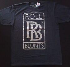 Marc Ecko Unltd Roll Blunts Shiny Weed Pot Joint Smoker's Club LG T-Shirt NEW!