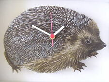 HEDGEHOG WALL CLOCK. NEW AND BOXED.