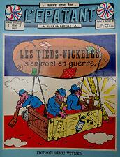 LES PIEDS NICKELES S'EN VONT EN GUERRE - de Forton (Editions Henri Veyrier-1978)