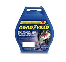 100 77908 SNOW CHAINS GOODYEAR G9 RUBBER MIS 890-15 205-15 235/50-16 245/4516