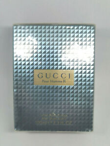 Gucci Pour Homme II by Gucci Men 3.3 oz/100 ml After Shave Lotion (New & Sealed)