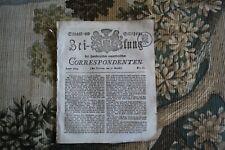 1814 Zeitung 60 / Unruhen in China / Mainz / Hamburg Hafen /