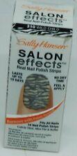 1 Box Sally Hansen Salon Effects Real Nail Polish Strips WILD CHILD #310 16ct