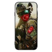 Turkish flag Türkiy Turkey Cover Case iPhone 5 6 6S 7 8 plus X XR XS 11 Pro Max