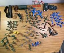 Vintage 60s/70s plastic soldiers/army/tanks Man flags Marx /MPC/HKSAR MIXED LOT
