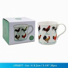 Hen Chicken Lovers Multi Fish Design Fine China Mug Gift Boxed by Leonardo
