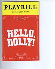 HELLO DOLLY unsigned 2017 NY City playbill     AWESOME PLAY       BETTE MIDLER