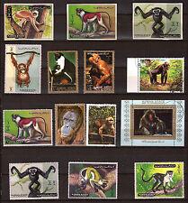 AJMAN/UMM EL KIWAIN the various species of fauna ape-like F142