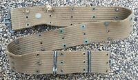 Original WWII WW2 US Army Military Issue M1936 Web Gear Pistol Uniform Belt