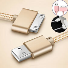Charger Cable Aluminum USB For Apple iphone 4 4S Tablet 2 3 Nano Data Sync Metal