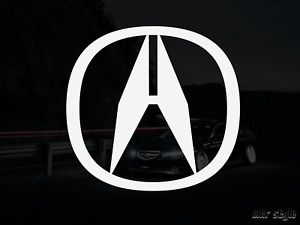 Acura A Decal ~ Sticker ~ NSX, Integra, TL, TSX, RL, CL, MDX, TLX RLX RSX Type R