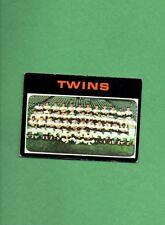1971 Topps Baseball Set MINNESOTA TEAM CARD # 522