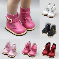 Geschenke zum Geburtstag PU Lederschuhe Schuhe für Puppen 18 Inch Dolls Stiefel