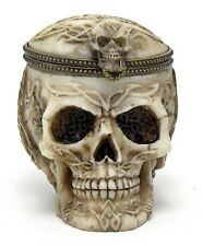 Jewelry Box Cool Realistic Skull Ossuary Offering bowl Jewelry Stash Rituals